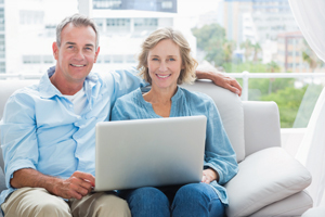 Couple With Laptop Med Res